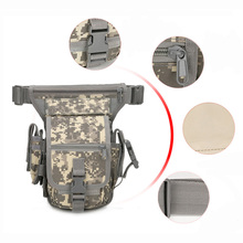 Pouch Molle-Pack Drop-Leg Tactical Leg-Bag Waist-Belt-Bag Military Hunting Nylon
