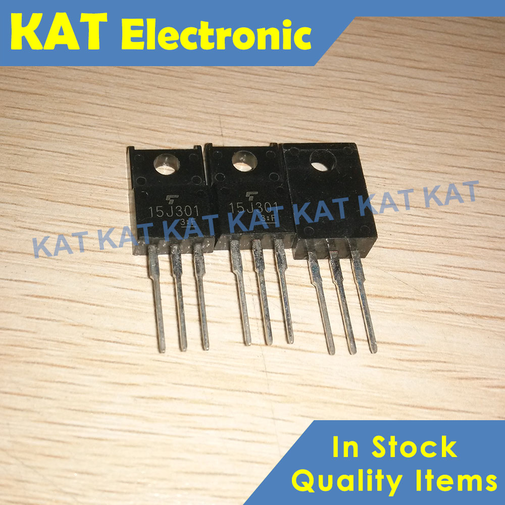 5PCS/Lot GT15J301 15J301 600V 15A TO-220F HIGH POWER SWITCHING APPLICATIONS MOTOR CONTROL APPLICATIONS