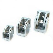Bisagra de aleación de Zinc 2020/3030/4040, conector de ángulo de ajuste de aluminio Industrial para 20 30 40 Series, perfiles de aluminio, 1 ud.