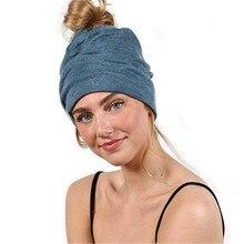 2019 Ear Warm Casual Loose Hip Hop Braid Man Women Fall Winter Skullies Beanies Hat Cap Elastic Fashion Accessories-XMC-W6