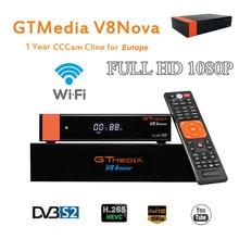 Satellite Receiver GTMedia V8 Nova Full HD DVB-S2 1 Year Europe Cccam 7 line Support Satellite EPG Support  Built-in WIFI original skybox m5 s m5 mini hd digital satellite receiver with wifi build in support cccam newcam network epg