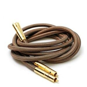 Image 4 - Hi Fi высококачественный кабель Accuphase 40 го юбилейного выпуска OCC из чистой меди с разъемом RCA, аудиокабель с золотым покрытием