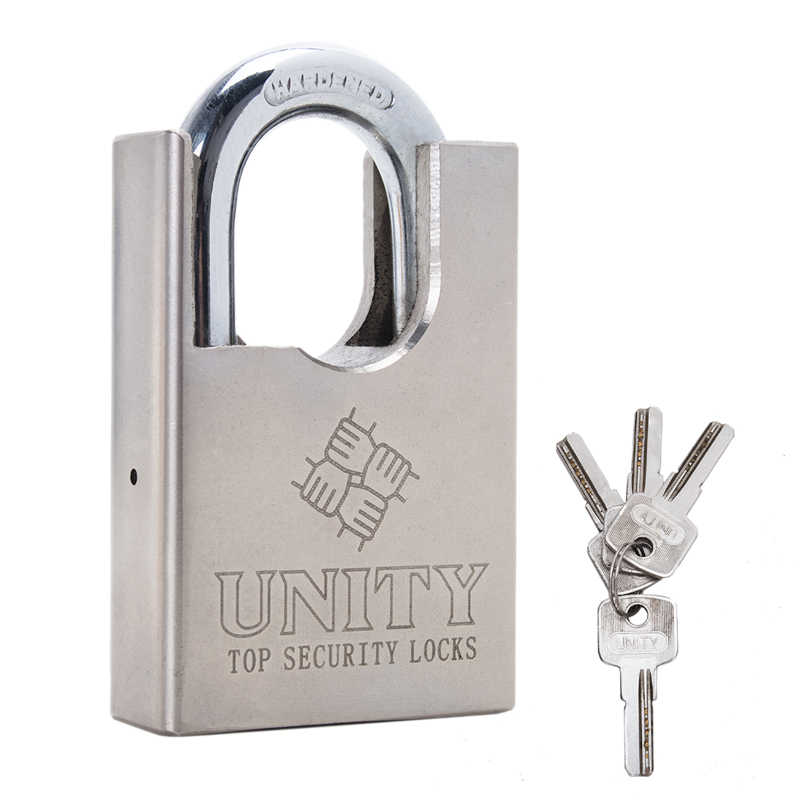 ALL SIZES HEAVY DUTY ANTI RUST PADLOCK SECURITY SHACKLE LOCK H-QUALITY STEEL