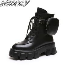 Women winter shoes 2019 new leather velvet warm women's boots trend storage smal