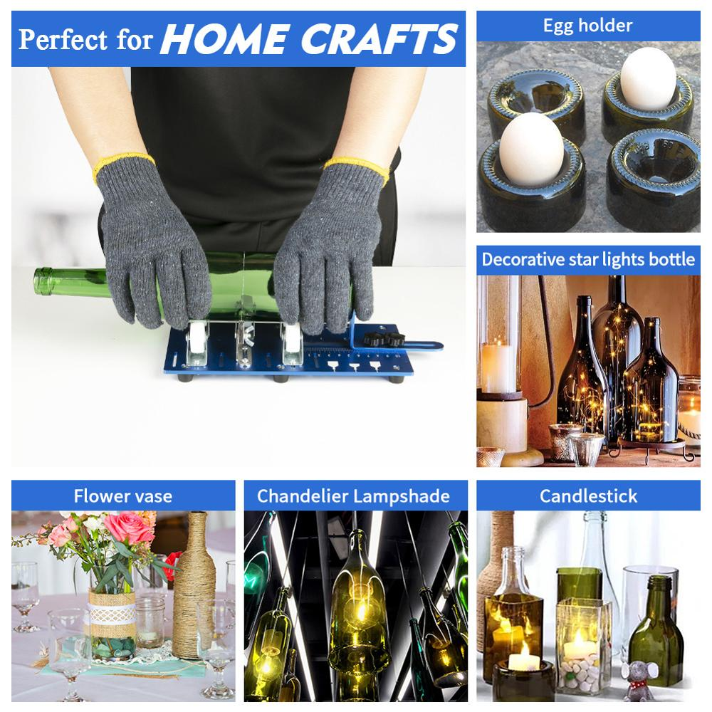 Professional Bottle Cutter Glass Cutting Tool,Wine Beer Bottle Craft DIY Decor