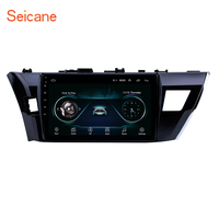 Seicane 2din Android 8.1 Car Head Unit Radio Audio GPS Multimedia Player For 2013 2014 2015 Toyota Corolla Carplay Rear camera