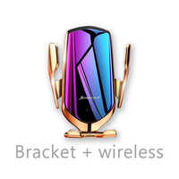 10W QI Car Wireless Charger Infrared Sensor Car Charger for Max Samsung S9 Xiaomi MIX 2S Huawei Mate 20 Pro Mate 20 RSiPhone