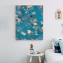 Двусторонний постер для бассейна и неба Детская игровая картина