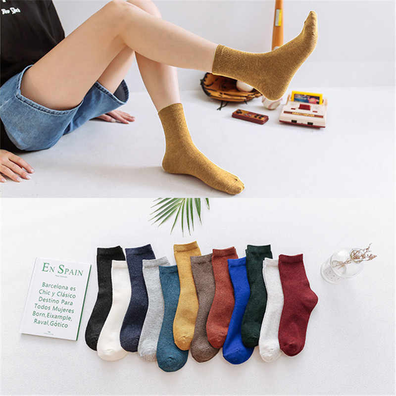 Women Socks Harajuku Christmas Cute Winter Kawaii Egirl Warm Sock Cozy Thick Cotton 2019 Fashion Streetwear Trending Products