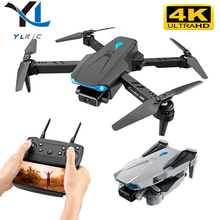 2021 S89 Quadcopter 4K HD Dual Camera Height Maintainable Foldable Mini Drone wifi FPV Headless Mode Drone Toy