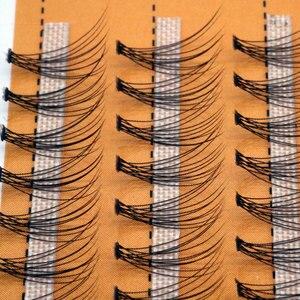 Image 4 - 60 יח\חבילה מלאכותי טבעי ארוך פרט אשכול ריסים מקצועי איפור השתלה מזויף false ריס תוצרת סין