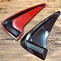 Автомобильные аксессуары ABS Гибкий углеродный волоконный боковой маркер крыло воздушный поток автомобиля Наклейка для BMW X1 X2 X3 X4 X5 F10 F30 e46 Z4 X6...