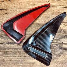 цены на Car accessories ABS flexible Carbon fiber Side Marker Fender air flow car sticker FOR BMW X1 X2 X3 X4 X5 F10 F30 e46 Z4 X6 M3 M5  в интернет-магазинах
