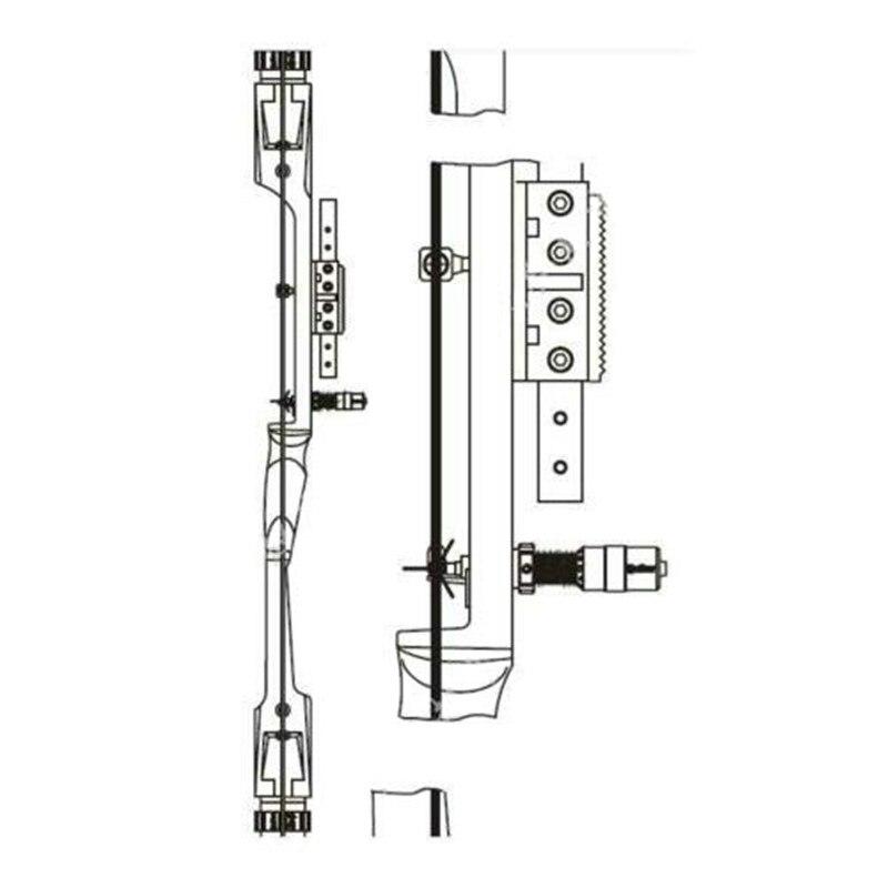 centerline ajustar modulo de ajuste centerline calibracao detector caca tiro acessorios 05