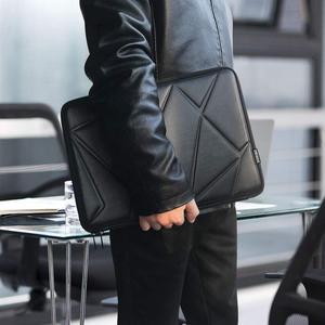 Image 3 - DOMISO 10 13 14 15.6 Inch Shock Resistant Laptop Sleeve Protective Case Waterproof Laptop Bag for Macbook Acer HP Black