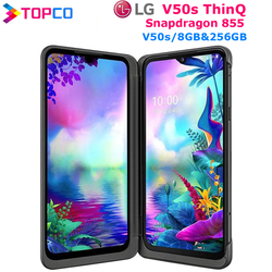 LG V50S ThinQ Original Unlocked LTE 5G NFC Android Phone Snapdragon 855 Octa Core 6.4