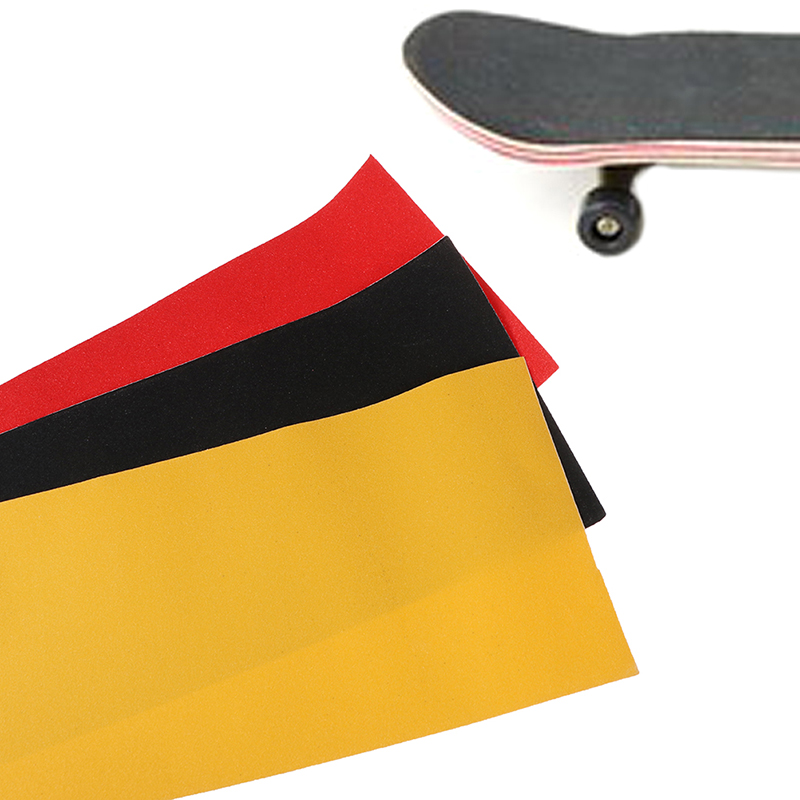 Professional PVC Skateboard Sand Paper Perforated Deck Grip Tape Griptape Skate Scooter Sticker Sandpaper