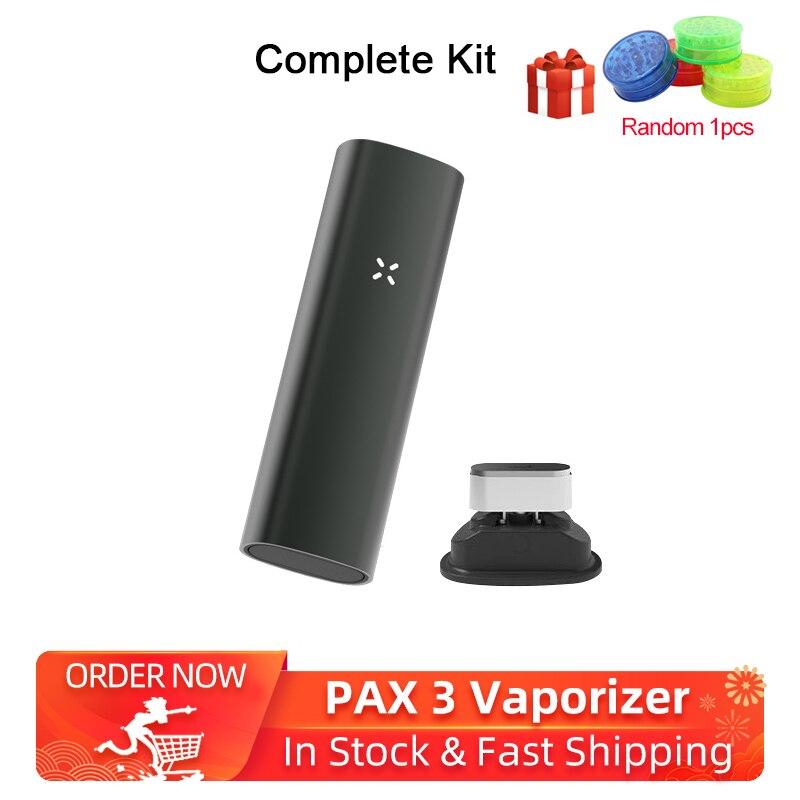 Rectangle 2-in-1 Dry Herb Vaporizer Kit Electronic Cigarettes 3500mAh & Vibrating Alert Herbal Vaporizer No Bluetooth VS PAX 3