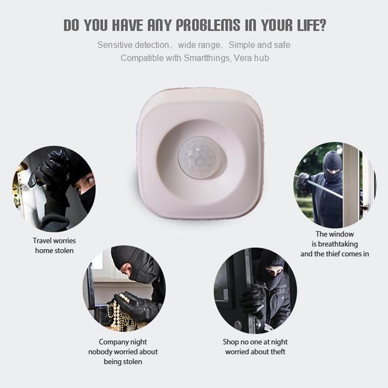HOT Smart Wireless PIR Motion Sensor Detector Compatible For Graffiti Multifunctional LSF99
