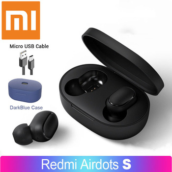 Redmi Xiaomi Airdots  S TWS Bluetooth Earphones Wireless Bluetooth Earphone AI Control Gaming Headset With Mic Noise reduction 1