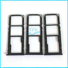 10pcs For Huawei Y7 2018 Sim card Tray Micro SD Card Holder Slot Adapter Replacement Part(China)