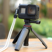 Ulanzi GoPro 8 ป้องกันกรณีซิลิโคนเลนส์ฝาครอบเชลล์ที่อยู่อาศัยสำหรับ GoPro Hero8 กีฬาอุปกรณ์เสริมกล้อง