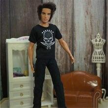 Príncipe ken boneca roupas moda casual usar roupa artesanal para 30cm príncipe boneca acessórios brinquedos ken príncipe roupas
