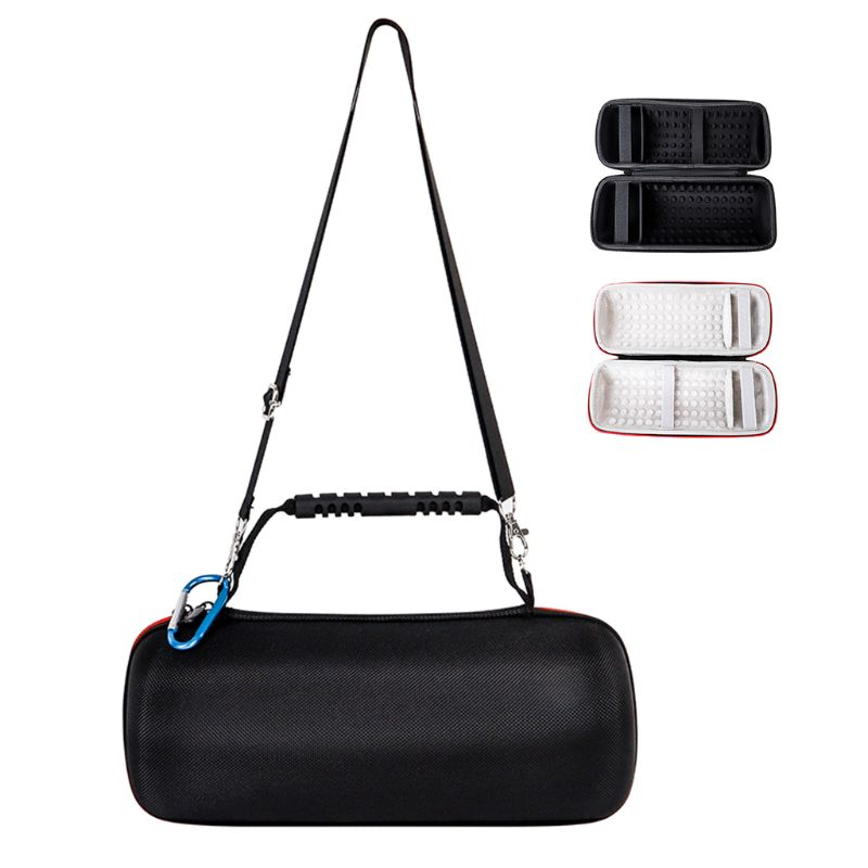 Anti Dust Carrying Case Travel Accessories Protective Zipper With Handle Portable Storage Bag For JBL Pulse 4 Bluetooth Speaker