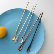 Brushed Cocktail-Spoon Bartender-Tools 304-Stainless-Steel Long-Handle Simple