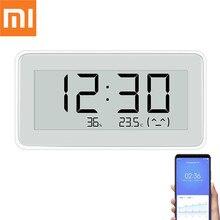 شاومي BT4.0 اللاسلكية الذكية LED الكهربائية ساعة رقمية داخلي وخارجي الرطوبة ميزان الحرارة LCD أدوات قياس درجة الحرارة
