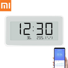 Xiaomi BT4.0 Wireless Smart LED Electric Digital clock Indoor&Outdoor Hygrometer Thermometer LCD Temperature Measuring Tools