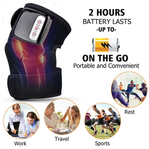 Image 2 - Far Infrared Heating Massage Knee Brace Vibration Pain Relief Therapy Joint Shoulder Elbow Physiotherapy Treatment