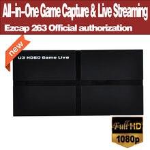 Ezcap263 u3 hd60 устройство «все в одном» для захвата игр и