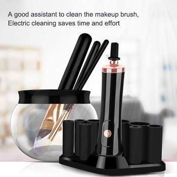 Electric Makeup Brush Cleaner Convenient Silicone Make up Brushes Washing Cleanser Cleaning Tool Machine Cleaner Device 2