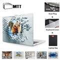 Настенный 3D-чехол MTT для ноутбука Macbook Air 11 13 Pro 13 15 16  чехол с сенсорной панелью для mac book 12 дюймов  чехол для ноутбука a1534