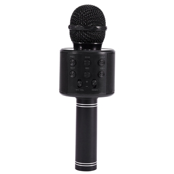Portable Wireless Microphone Bluetooth Karaoke Home Mic Stereo Speaker Player USB Studio KTV Music Online bluetooth wireless microphone handheld karaoke mic usb mini home ktv for music playing singing speaker player