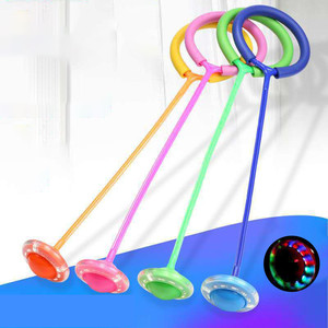 Flash Jumping Rope Ball Kids Outdoor Fun Sports Toy LED Children Jumping Force Reaction Training Swing Ball Child-parent Games(China)