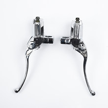 Guidon de rechange de moto 25mm pour Suzuki | Pour Intruder 800 1400 1500 leviers de frein chromés