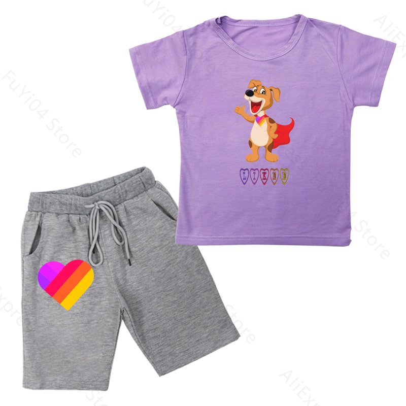 Купить likee summer boy girl clothes toddler kids outfits t shirt +