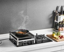 цена на 304 Stainless Steel Kitchen Rack Cooking Bench Shelf Electromagnetic cooker Soup Pot Condiment Adjustment Frame