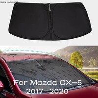 Car Front Window Glass Shade Sunscreen Heat Insulation Window Windshield Curtain for Mazda CX 5 CX5 2017 2018 2019 2020