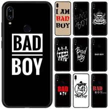 BAD BOY TPU Soft Silicone Phone Case Cover For Xiaomi Redmi Note 4 4x 5 6 7 8 pro S2 PLUS 6A PRO lavaza the walking dead soft tpu case for xiaomi redmi note 5 6 7 pro for redmi 5a 6a s2 5 plus silicone cover