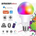 20 Вт RGBW Smart Светодиодный лампы Точечный светильник E27 RGB светодиодный Красочные затемнения Wi-Fi Bluetooth/ИК-пульт дистанционного управления Упра...