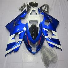 ZXMT Motorcycle Bodywork Injection Fairing Kit Fit For Suzuki GSX-R600 GSX-R750 2004 2005 ABS Molded