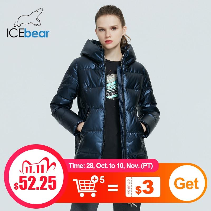 ICEbear 2020 Winter Casual Модные женские пальто из высококачественной женской одежды Жакет с капюшоном для женщин GWD20161D|Парки| | АлиЭкспресс