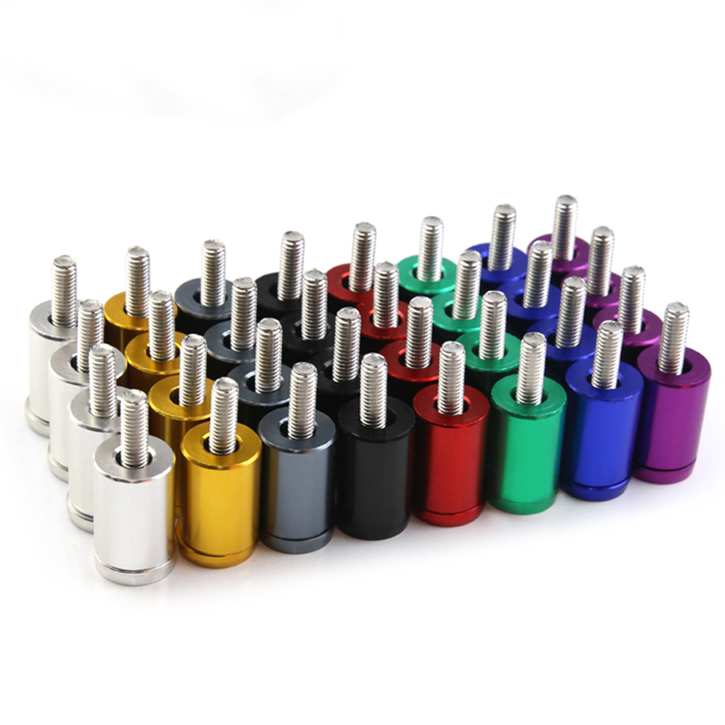 Kit universal da liga de alumínio dos jogos de riser do espaçador do respiradouro da capa do motor durável