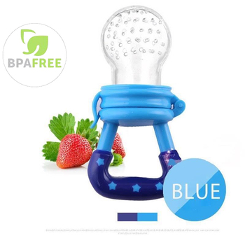 Baby Food Feeder with Pacifier Clip Holder Infant Baby Teether Fruit Feeder Pacifier Infant Food Pacifier Silicone Teething Toys 1