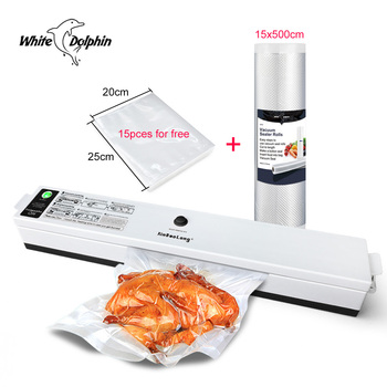 Home Food Packaging Machine Vacuum Sealer 220V 110V Sealing Fresh Film Sealer Vacuum Packer Mini China Vacuum Sealer Rolls Bags