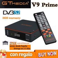 Mais novo gtmedia v9 principal receptor gtmedia v8x potência por freesat v9 super h.265 hd wi-fi embutido 1080p DVB-s2