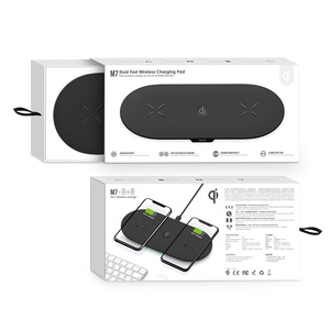 Image 5 - טלפון סוללה מטען 3 ב 1 צ י אלחוטי מטען 10W אינדוקציה Stand אלחוטי טעינת Pad מחזיקי עבור iPhone 11 12 פרו Airpods